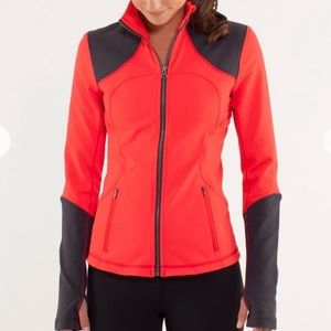 *LULULEMON* Love Red & Black Forme Jacket